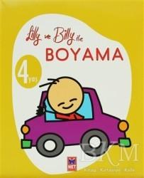 Net Çocuk Yayınları - Lilly ve Billy ile Boyama