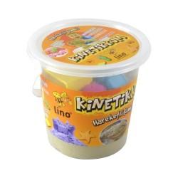 Lino - Lino Kinetik Kum 1000 Gr Kova 6 adet Kalıp