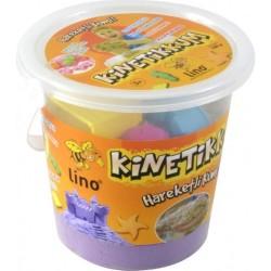 Lino - Lino Kinetik Kum Mor 1000 Gr Kova 10 Adet Kalıp