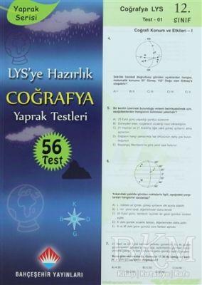 LYS'ye Hazırlık Coğrafya Yaprak Testleri 12. Sınıf