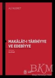 DBY Yayınları - Makalat-ı Tarihiyye ve Edebiyye