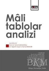 Eğitim Yayınevi - Ders Kitapları - Mali Tablolar Analizi