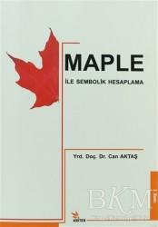 Kriter Yayınları - Maple ile Sembolik Hesaplama