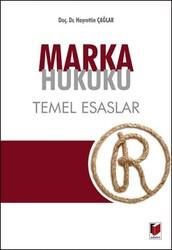 Adalet Yayınevi - Ders Kitapları - Marka Hukuku Temel Esaslar