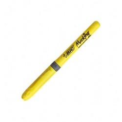 Bic - Bic Marking Highlighter Grip Fosforlu Kalem Sarı
