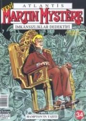 Lal Kitap - Martin Mystere İmkansızlıklar Dedektifi Sayı: 34 Hampton'ın Tahtı
