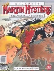 Lal Kitap - Martin Mystere Sayı: 32 İmkansızlar Dedektifi Cengiz Han Operasyonu