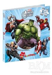 Beta Kids - Marvel Avengers Assemble: İlk Yapboz Kitabım