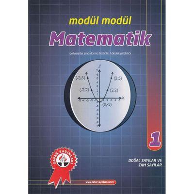 Matematik Modül Modül 1 Doğal Sayılar Ve Tam Sayılar Zafer Yayınları