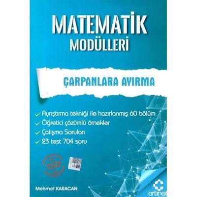Matematik Modülleri Çarpanlara Ayırma ArtıNet Yayınları