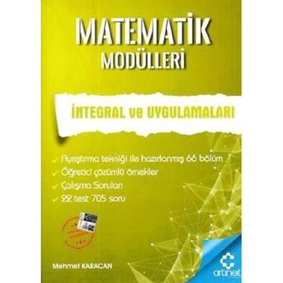 Matematik Modülleri İntegral Ve Uygulamaları ArtıNet Yayınları