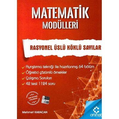 Matematik Modülleri Rasyonel Üslü Köklü Sayılar ArtıNet Yayınları