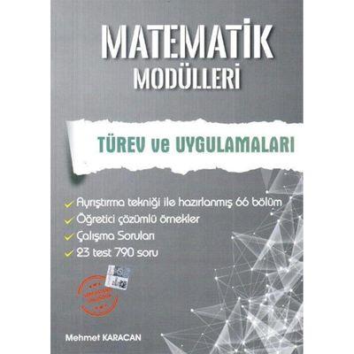 Matematik Modülleri Türev Ve Uygulamaları ArtıNet Yayınları