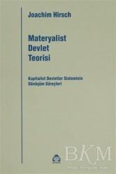 Alan Yayıncılık - Materyalist Devlet Teorisi