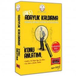 Yargı Yayınları - MEB Adaylık Kaldırma AKS Sınavlarına Hazırlık Kılavuzu Konu Anlatımı Yargı Yayınları