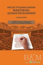 Hiperlink Yayınları - Meclis Tutanaklarının Mantıksal Açıdan İncelenmesi