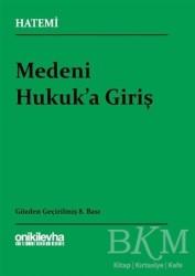 On İki Levha Yayınları - Medeni Hukuka Giriş