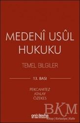 On İki Levha Yayınları - Ders Kitapları - Medeni Usul Hukuku Temel Bilgiler