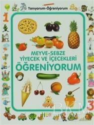 Masalya Yayınları - Meyve-Sebze Yiyecek ve İçecek Öğreniyorum