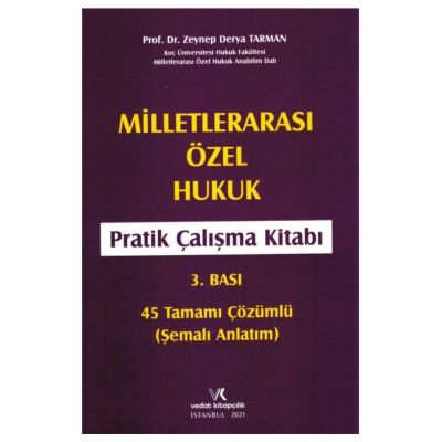 Milletlerarası Özel Hukuk Pratik Çalışma Kitabı Vedat Kitapçılık