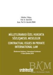 On İki Levha Yayınları - Milletlerarası Özel Hukukta Sözleşmesel Meseleler - Contractual Issues in Private International Law