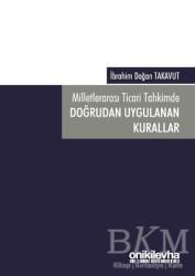 On İki Levha Yayınları - Milletlerarası Ticari Tahkimde Doğrudan Uygulanan Kurallar