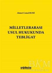 On İki Levha Yayınları - Milletlerarası Usul Hukukunda Tebligat