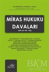 Aristo Hukuk Yayınevi - Miras Hukuku Davaları
