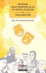 Akdem Yayınları - Modern Arap Şiirinde Alay ve Sosyal Eleştiri - Halementişi