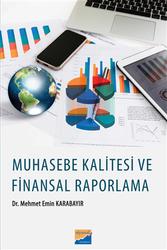 Siyasal Kitabevi - Akademik Kitaplar - Muhasebe Kalitesi ve Finansal Raporlama