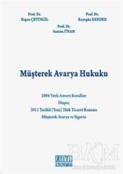 On İki Levha Yayınları - Müşterek Avarya Hukuku
