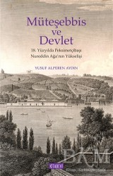 Kitabevi Yayınları - Müteşebbis ve Devlet