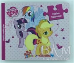Doğan Egmont Yayıncılık - My Little Pony - Neşeli Yapboz Kitabım