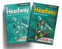 Oxford Yayınları - New Headway Fourth Edition Advanced Student's Book / Workbook Without Key