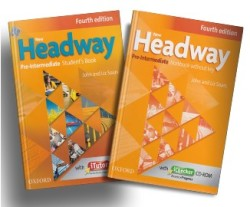 Oxford Yayınları - New Headway Fourth Edition Pre-Intermediate Student's Book / Workbook Without Key