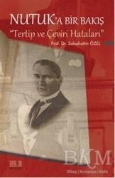 Derin Yayınları - Nutuk'a Bir Bakış