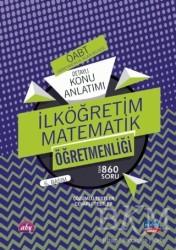 Nobel Sınav Yayınları - ÖABT İlköğretim Matematik Öğretmenliği - Öğretmenlik Alan Bilgisi - Detaylı Konu Anlatımı