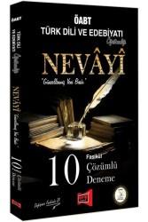 Yargı Yayınları - ÖABT NEVAYİ T.DİLİ VE EDEBİYATI 10 DNM 2018