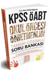 Benim Hocam Yayınları - ÖABT Okul Öncesi Öğretmenliği Tamamı Çözümlü Soru Bankası Benim Hocam Yayınları