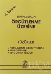İnter Yayınları - Örgütlenme Üzerine - Tüzükler