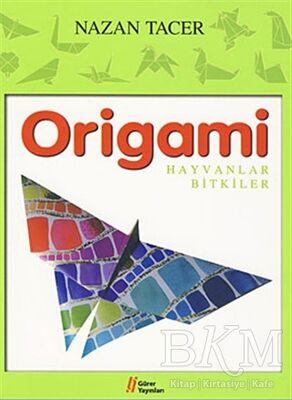Origami - Hayvanlar Bitkiler