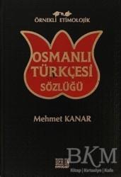 Derin Yayınları - Örnekli Etimolojik Osmanlı Türkçesi Sözlüğü