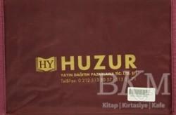 Huzur Yayınevi - Orta Boy Kur'an-ı Kerim Hatmi Şerif Cüzü (30 Cüz Kılıflı)