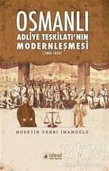 İdeal Kültür Yayıncılık - Osmanlı Adliye Teşkilatı'nın Modernleşmesi