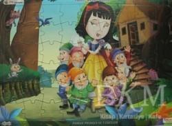 Yumurcak Yayınları - Pamuk Prenses ve 7 Cüceler Üçü Bir Arada! (Yapboz-Hikaye-Boyama)