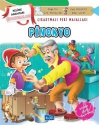Parıltı Yayınları Boyama ve Çıkartma Kitapları - Pinokyo - Çıkartmalı Peri Masalları