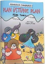 Eğiten Kitap Çocuk Kitapları - Plan Üstüne Plan - Kahkaha Canavarı