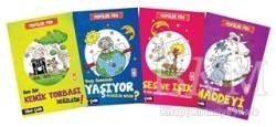 Timaş Çocuk - İlk Çocukluk - Popüler Fen Seti (4 Kitap Takım)