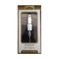 Powerway - Powerway 3.1 Araç İçi Şarj Takımı Apple iPhone