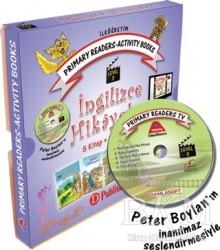 D Publishing Yayınları - Primary Readers - Activity Books İngilizce Hikayeler Level 3 (Kutulu)